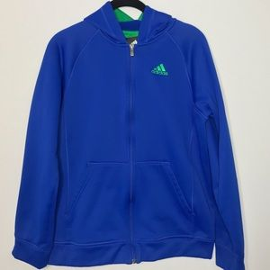 Adidas Zip Hooded Jacket Kids 18/XL
